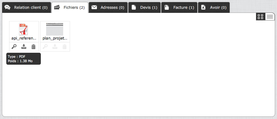 client-liste-fichiers